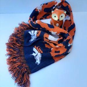 Forever Collectibles Broncos winter scarf